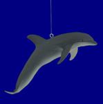 Break Resistant Bottlenose Dolphin Ornament