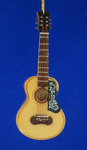"Mini Spanish Guitar Ornament - Wood, 5"" Large #BG2286"