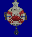 Welcome Aboard LIfe Preserver Ornament