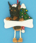"Personalized Doberman Ornament, 4 5/8"", #EI35356-101"
