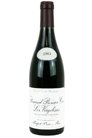 2003 Domaine Rapet Pernand Vergelesses 1er Cru Les Vergelesses Burgundy France 750 mL