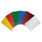 "18"" X 12"" X 1/2"" COLOR PE BOARD 6 COLOR SET"