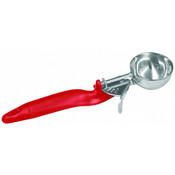 1 1/3 OZ, LEVER DISHER #24 RED ERGO HANDLE
