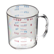 1 CUP/ 0.25L  POLYCARBONATE MEASURING CUP