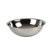 16 QT MIXING BOWL, HEAVY DUTY, STAINLESS STEEL, 22 GAUGE