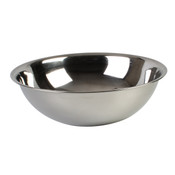 20 QT MIXING BOWL, HEAVY DUTY, STAINLESS STEEL, 22 GAUGE