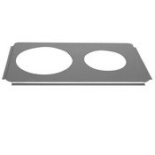 "ONE 6 1/2"", ONE 8 1/2"" HOLES ADAPTOR PLATE"