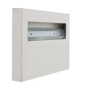 TOILET SEAT COVER DISPENSER, 18/8 STAINLESS STEEL, 500 SHEETS