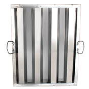 "HOOD FILTER 16"" X 20"", STAINLESS STEEL"