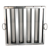 "HOOD FILTER 20"" X 20"", STAINLESS STEEL"