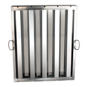 "HOOD FILTER 20"" X 25"", STAINLESS STEEL"