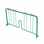 "14"" PRESSURE-FIT SHELF DIVIDER, GREEN EPOXY"