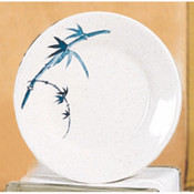 """10 3/8"""" PLATE, BLUE BAMBOO"""