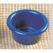 "1 1/2 OZ, 2 1/2"" SMOOTH RAMEKIN, COBALT BLUE"