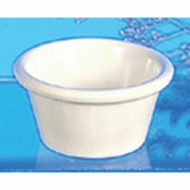 "2 1/2 OZ, 2 7/8"" SMOOTH RAMEKIN, BONE"