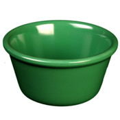 "2 1/2 OZ, 2 7/8"" SMOOTH RAMEKIN, GREEN"