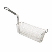 "13 3/8 "" X 4 3/8"" X 5 1/2"", RECTANGULAR BASKET, W/ GREY HANDLE"