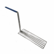 "5 3/4"" X 14 1/2"" FRY BASKET PRESS, BLUE HANDLE"