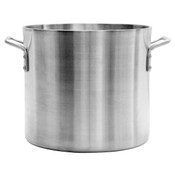 12 QT ALUMINUM STOCK POT, 6MM HEAVY DUTY