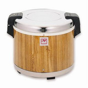 WOOD GRAIN 30 CUPS RICE WARMER