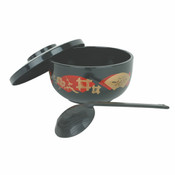 30 OZ, JAPANESE NOODLE BOWL, BLACK