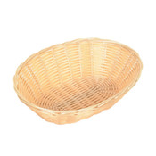 "PLASTIC BREAD CONTAINER OVAL 9 1/4"" X 7"" X 2 1/4"""