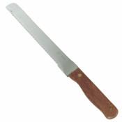 "8 1/2"" BLADE BREAD KNIFE, WOOD HANDLE 1.8MM"