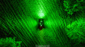 True 360 GREEN LED LIGHT