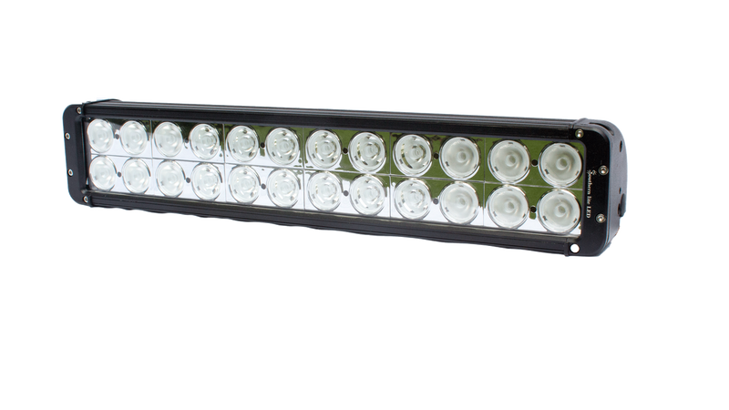 **NEW** Dual Row Southern lite LED light bar - 24,640 Lumens - 240 Watts (includes wiring harness)