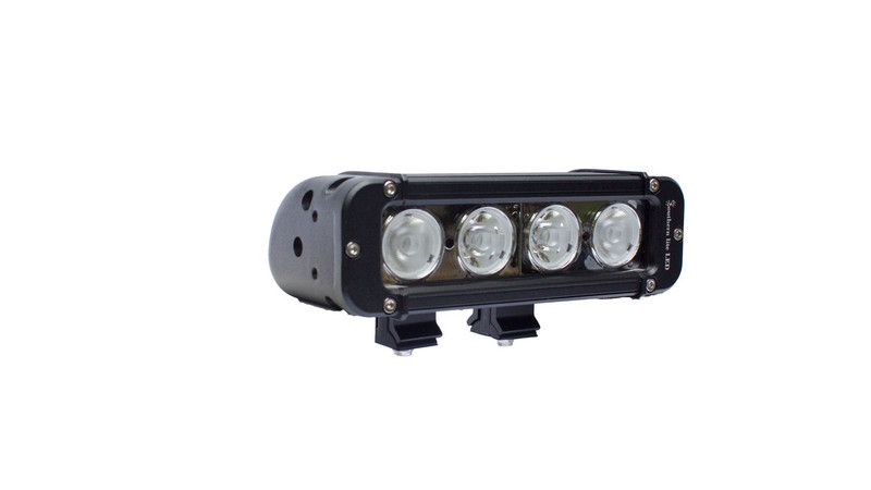 "8"" Southern lite LED 40 Watt Light Bar - 4,160 Lumens - Includes Brackets and Wiring Harness"
