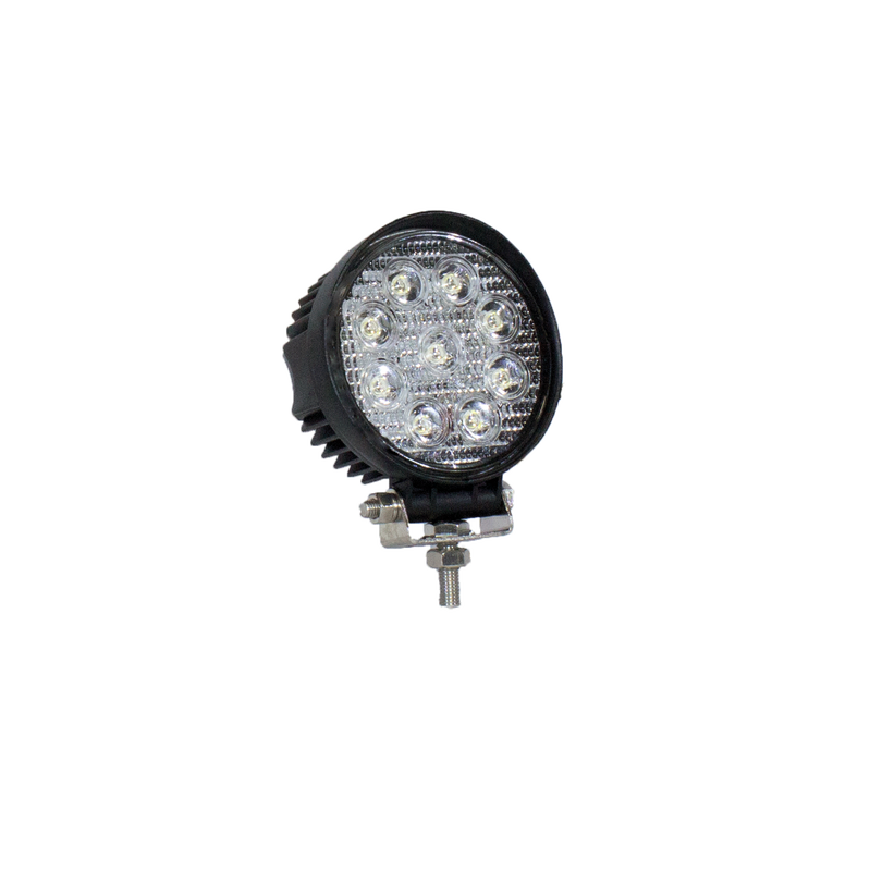 27 Watt Round Southern lite LED work light - 1,800 Lumens - Single light included (package available)