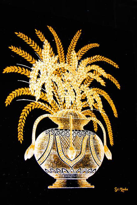 pun kalasa filled pot a decorated clay pot with a pot of gold clip art art pot of gold clipart black and white