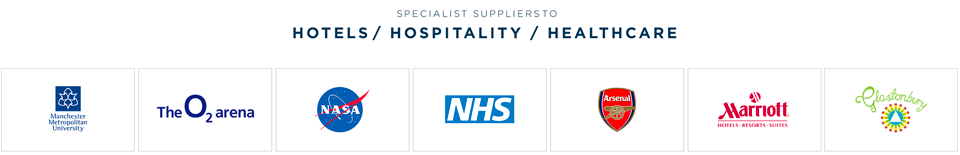 Specialist suppliers to Hospitals/Hotels/Healthcare