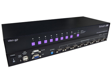 VNET+8P 8-Port Cross-platform VGA KVM by Smart AVI (VNET+8P)