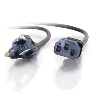 15ft 18 AWG Universal Power Cord (NEMA 5-15P to IEC320C13) (09482)