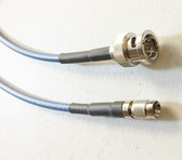 15ft Right Angle Din 1.0/2.3 to BNC 3G/6G 4K HD SDI Cable