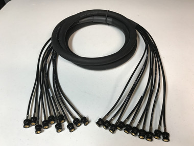 10FT - 10 Channel 3G HD SDI BNC Snake Cable - Quick Ship