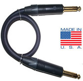 "6ft Pro Series 1/4"" Male to 1/4"" Male Audio Cable w/ Gold Contacts"
