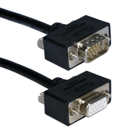 1ft UltraThin VGA HD15 Extension Cable Male to Female