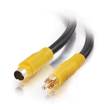 S-Video to Composite Video Cable