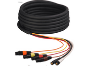 25ft 2 Channel HD-SDI Video and 4-Channel Audio Snake Cables (SDIAUD-25)
