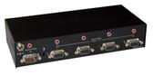 AVS4P 4 Port VGA Splitter with 3.5mm Audio by Smart AVI (AVS4P)