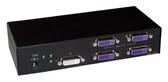 DVS4P Two-port DVI-I, DVI-D Splitter by Smart AVI (DVS4P)
