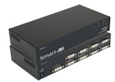DVS8P Eight-Port DVI-I, DVI-D Splitter by Smart AVI