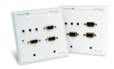 XTWALL - VGA, RS232, IR WallPlate Extender by Smart AVI (XTWALL)