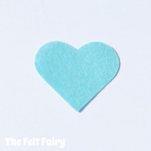 Sea Breeze Felt Square - Wool Blend Felt