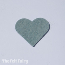 Pebble Felt Square - Wool Blend Felt