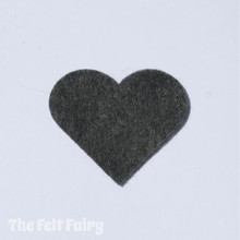Pewter Felt Square - Wool Blend Felt