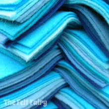 "Blues 9x4.5"" 6 Shades / 12 Sheets"