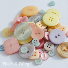 Pastels - Stash Boost Buttons 30g